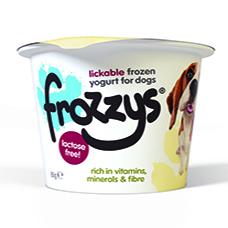 Frozzys Cranberry Frozen Yoghurt